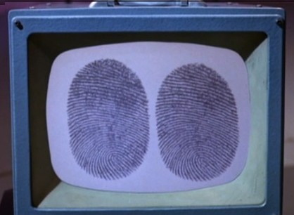 Number 6 thumbprints